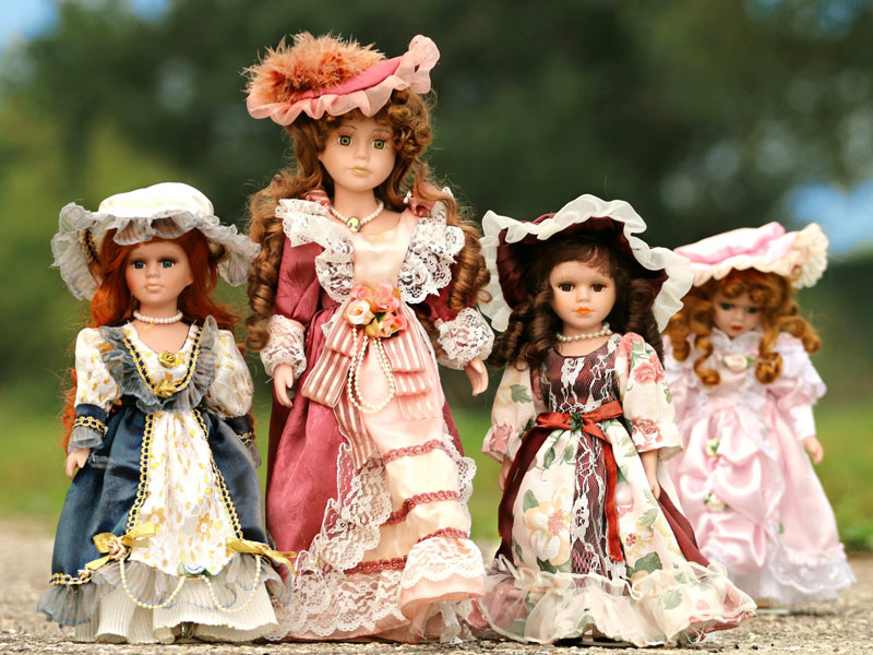 The Best Choice For Your Collector's Dollhouse is Your Handcrafted Porcelain Doll